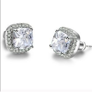 Jewelry - Sterling Silver Cubic Studs